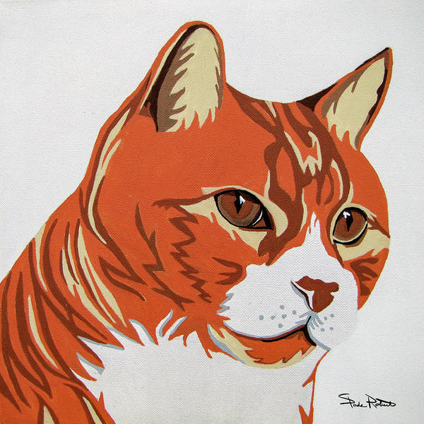 Tabby Cat Painting - Tom Cat by Slade Roberts