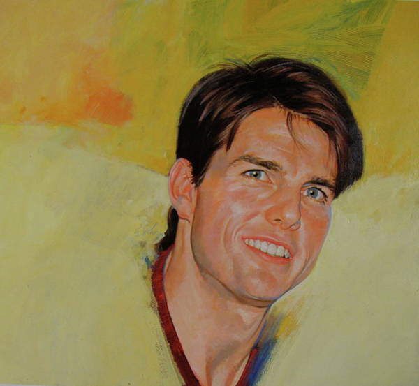 Painting - Tom Cruise by Cliff Spohn