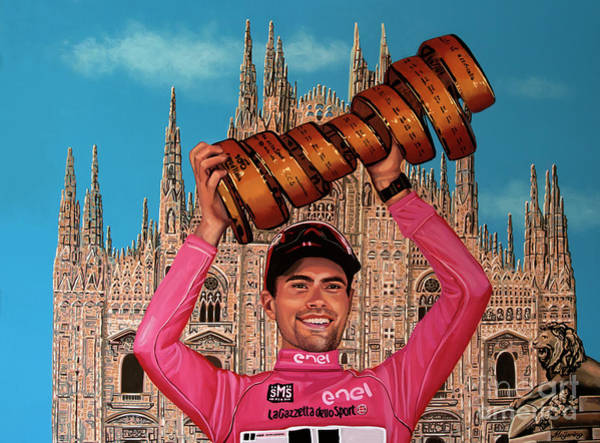 Painting - Tom Dumoulin Painting by Paul Meijering