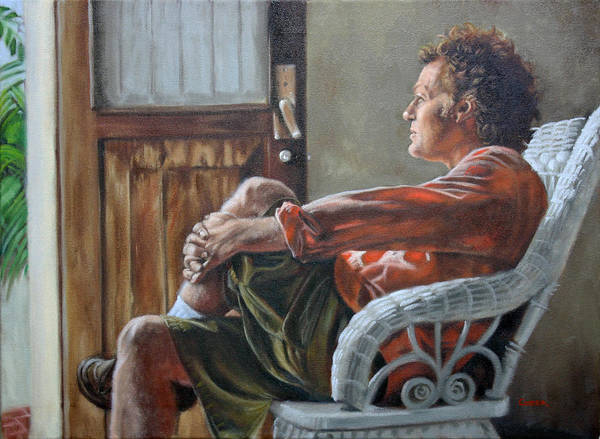 Painting - Tom In Veracruz by Todd Cooper