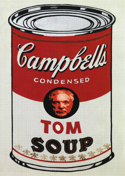 Wales Mixed Media - Tom Jones Soup by Charlie Ross