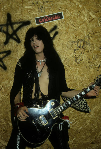 Photograph - Tom Keifer At The Galaxy by Rich Fuscia