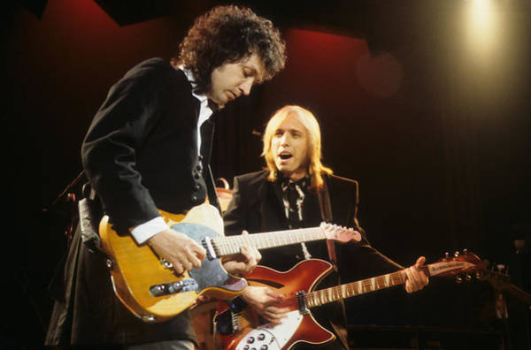 Photograph - Tom Petty And Mike Campbell by Rich Fuscia