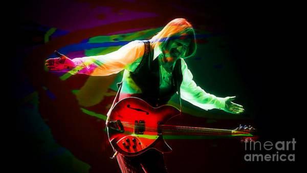 Wall Art - Mixed Media - Tom Petty by Marvin Blaine