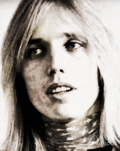 Screen Painting - Tom Petty, Music Legend by John Springfield