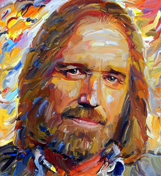 Detail Digital Art - Tom Petty Tribute Portrait 1 by Yury Malkov