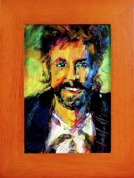 Painting - Tom Robbins by Les Leffingwell