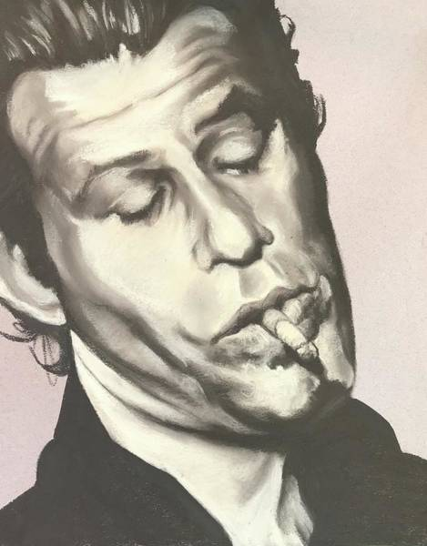 Tom Waits A Art Print