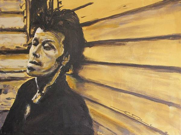 Painting - Tom Waits by Eric Dee