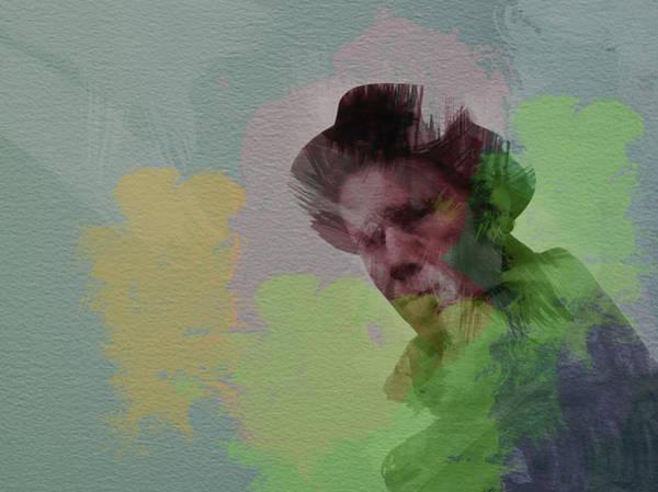 Tom Wall Art - Painting - Tom Waits by Naxart Studio