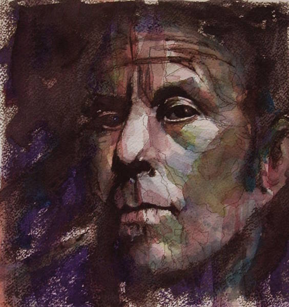Wall Art - Painting - Tom Waits Art by Paul Lovering