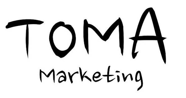 Digital Art - Toma Marketing Logo by Mario MJ Perron