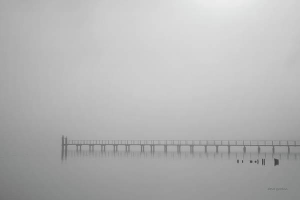 Photograph - Tomales Bay I Bw by David Gordon