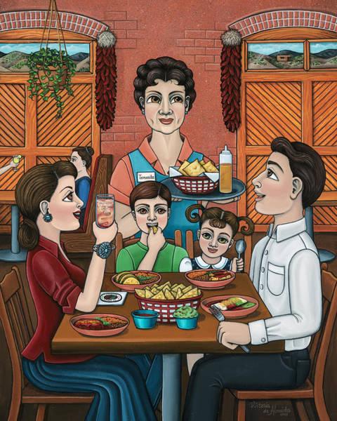 Painting - Tomasitas Restaurant by Victoria De Almeida