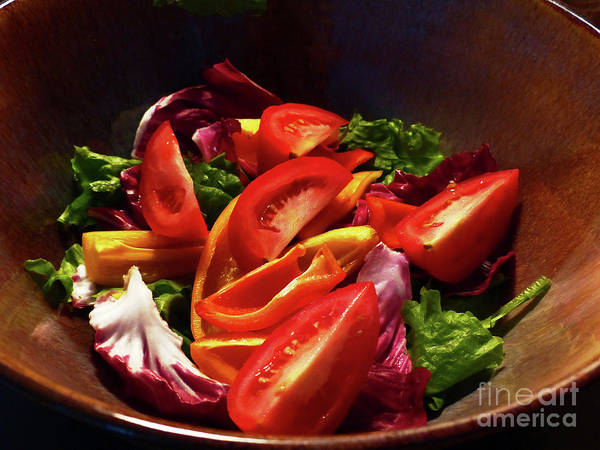 Photograph - Tomato Salad by Rosanne Licciardi