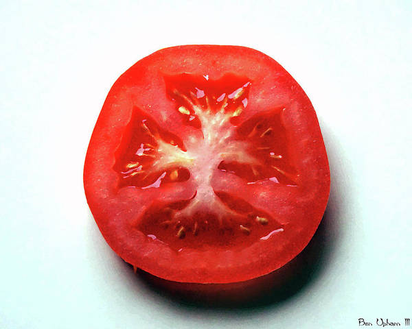 Photograph - Tomato Soul #2 by Ben Upham III
