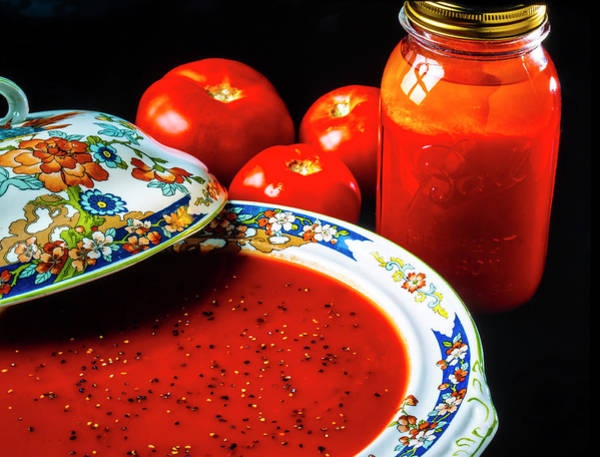 Wall Art - Photograph - Tomato Soup by Garry Gay