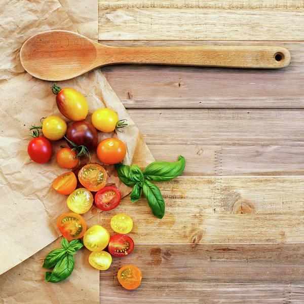 Wall Art - Photograph - Tomato Still Life 5 by Rebecca Cozart