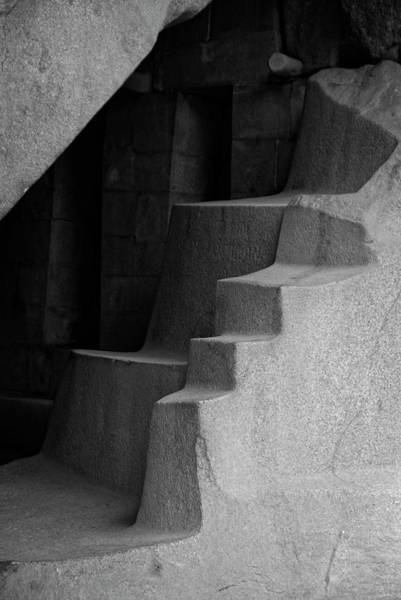 Photograph - The Royal Tomb At Machu Picchu by Lucinda Walter