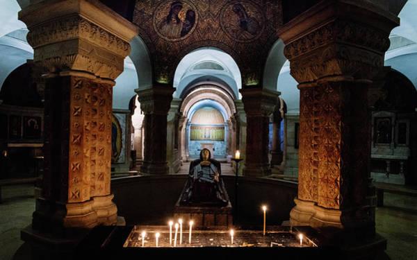 Photograph - Tomb Of The Virgin Mary, Jerusalem by Alexandre Rotenberg
