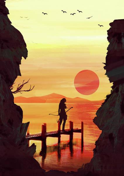 Digital Art - Tomb Raider by IamLoudness Studio