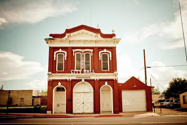 Tombstone Arizona Photograph - Tombstone City Hall #2 by Robert J Caputo