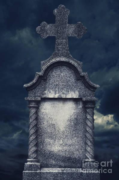 Digital Art - Tombstone by Jelena Jovanovic