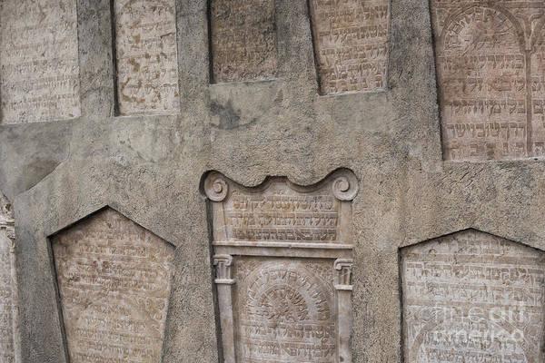 Photograph - Tombstone Wall by Juli Scalzi