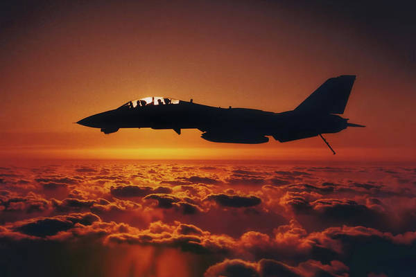 Wall Art - Photograph - Tomcat Sunrise by Peter Chilelli