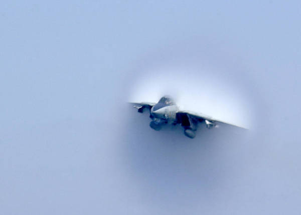 Breaking Sound Barrier Wall Art - Photograph - Tomcat Through The Sound Barrier by Aviation Heritage Press