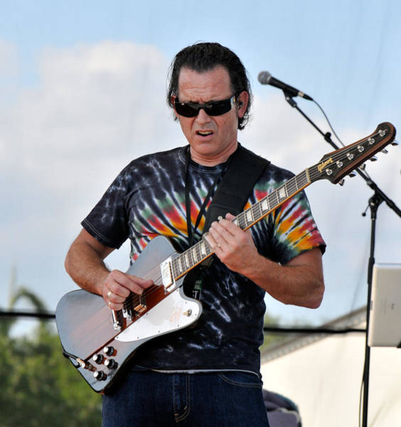 Photograph - Tommy Castro And His 1964 Gibson Firebird V by Ginger Wakem