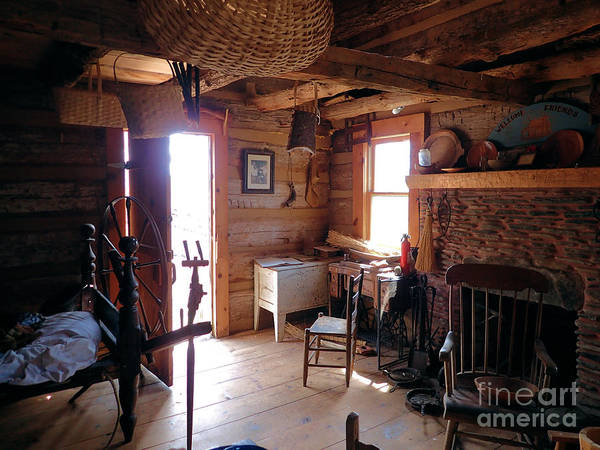 Photograph - Tom's Old Fashion Cabin by Nicole Angell