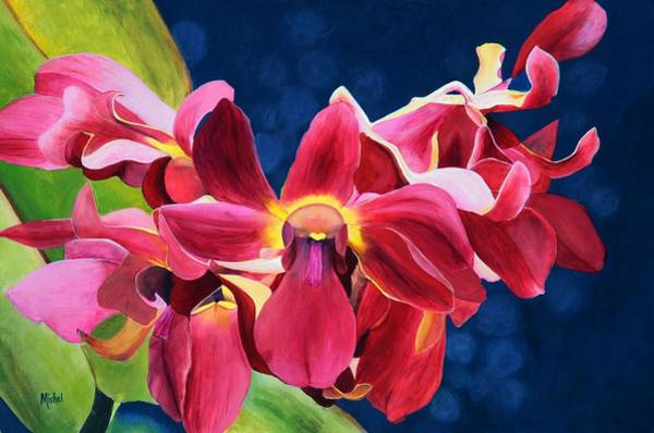 Painting - Tom's Orchid by Mishel Vanderten