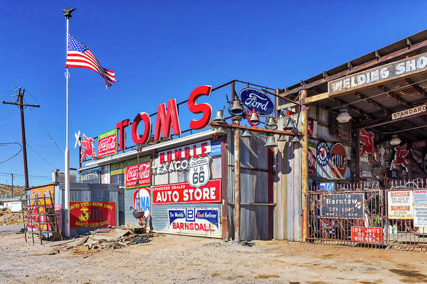 Photograph - Tom's Welding 2 by Jim Thompson