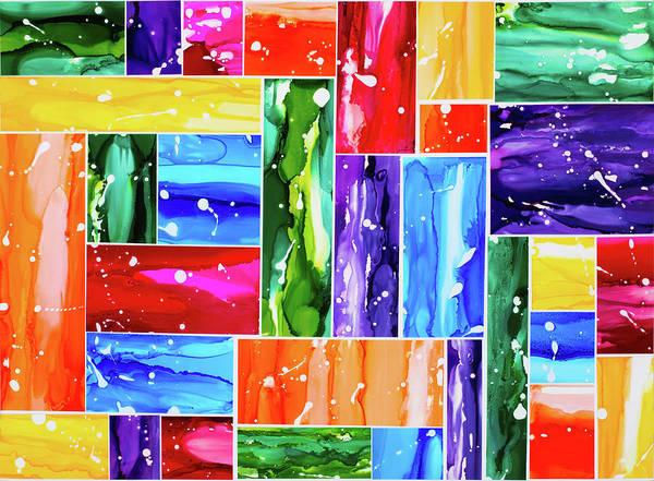 Variation Mixed Media - Tones Of Diversity by Rahdne Zola