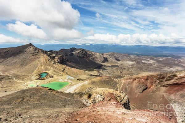 Photograph - Tongariro Alpine Crossing In New Zealand by Didier Marti