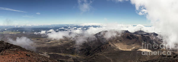 Photograph - Tongariro Crossing Panorama In New Zealand by Didier Marti