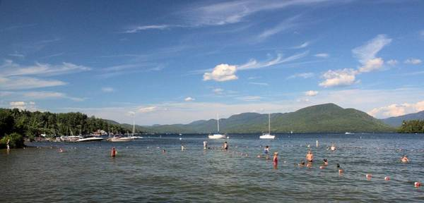 Bolton Landing Wall Art - Photograph - Tongue Mountain, Lake George by Robert McCulloch