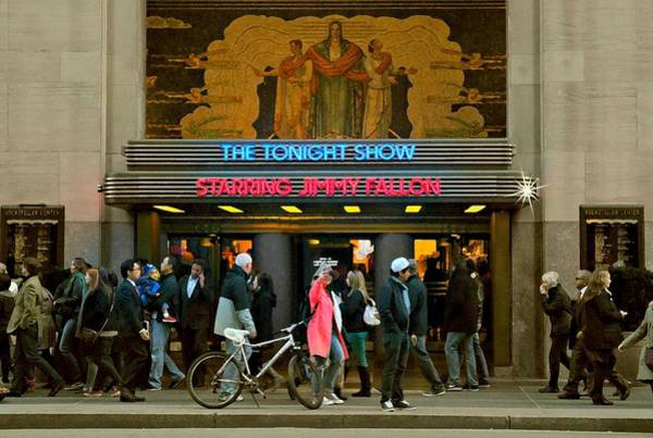 Fallon Wall Art - Photograph - Tonight Show With Jimmy Fallon by Diana Angstadt