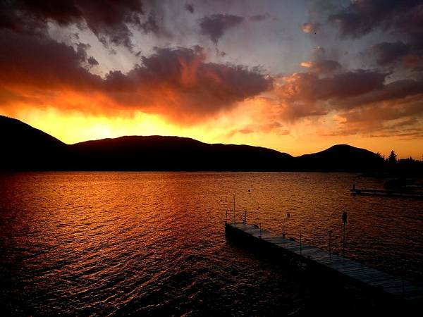 Photograph - Tonight's Sunset by Guy Hoffman