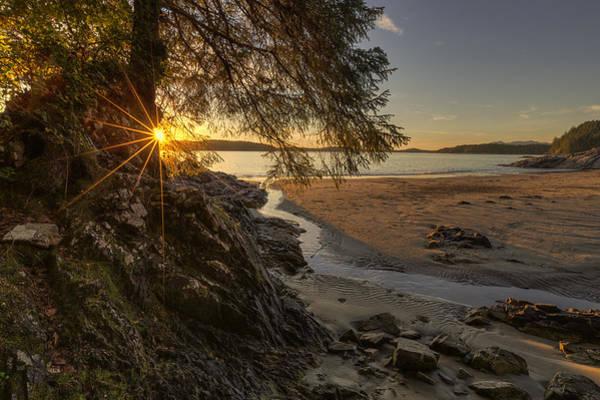 Photograph - Tonquin Beach Sunset by Mark Kiver
