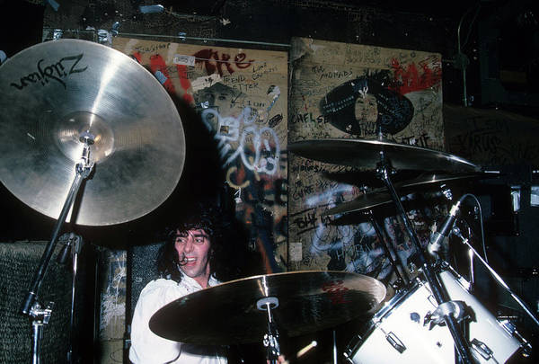 Photograph - Tony Destra At Cbgb by Rich Fuscia