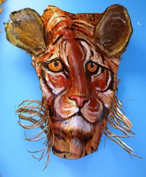 Tigger Wall Art - Mixed Media - Tony Frondz by Ellen Burns