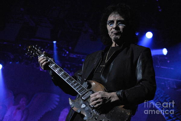 Photograph - Tony Iommi - Black Sabbath by Jenny Potter