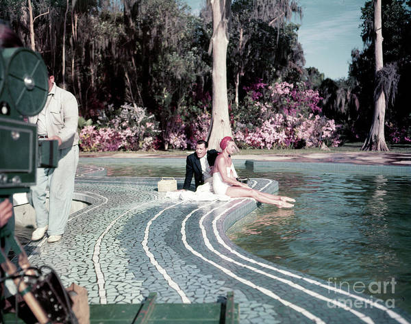 Wall Art - Photograph - Tony Martin And Esther Williams by The Harrington Collection