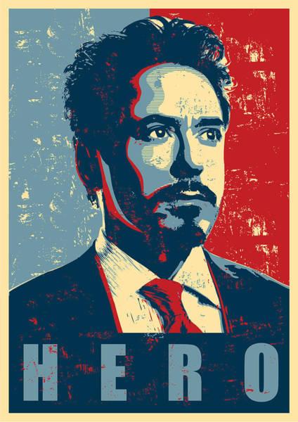 Wall Art - Digital Art - Tony Stark by Geek N Rock