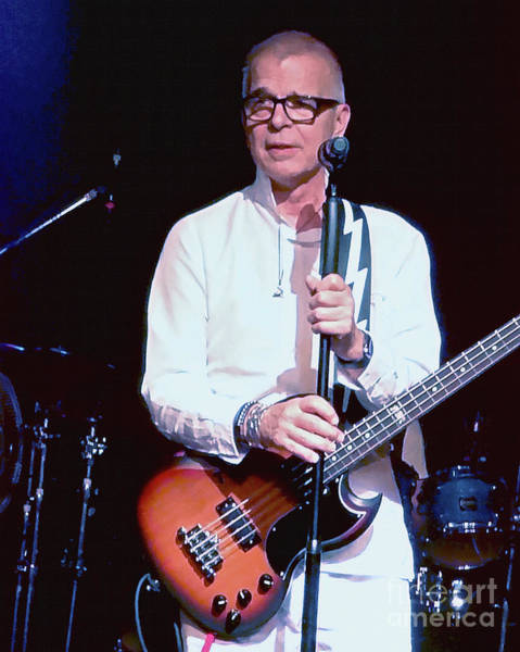Photograph - Tony Visconti  by Tanya Filichkin