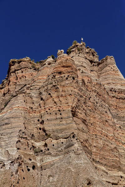 Photograph - Too Close To The Edge - Tent Rocks by Stuart Litoff