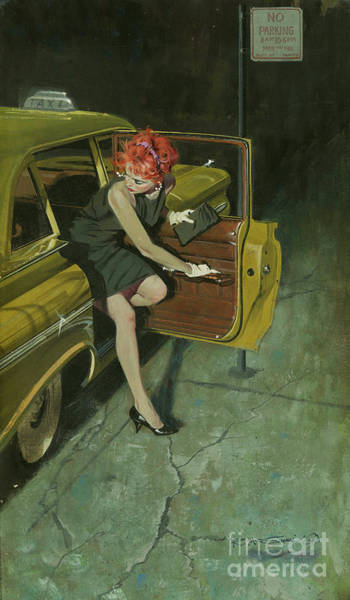 Femme Painting - Too Hot To Handle by Robert McGinnis