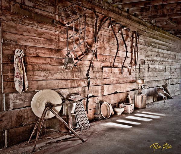 Photograph - Tool Cache by Rikk Flohr